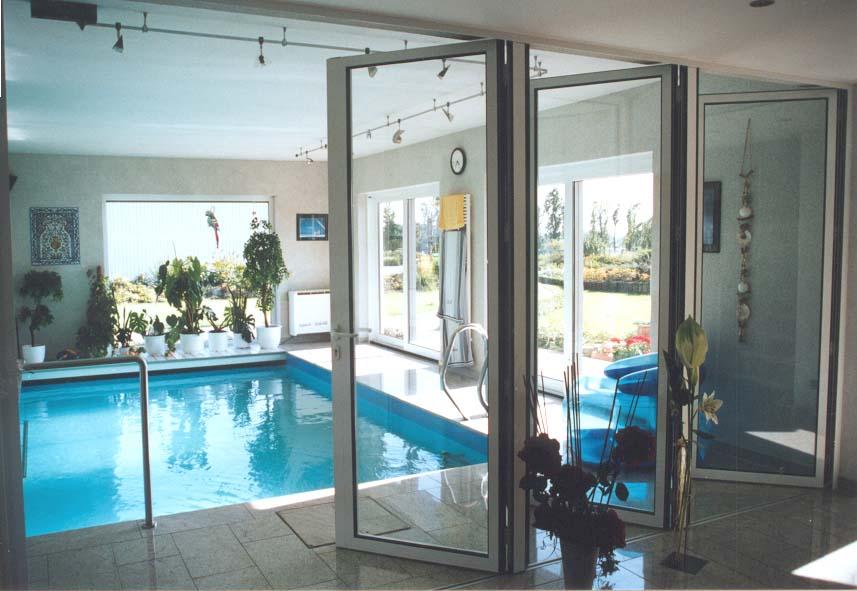 Aluminium-Falt-Schiebe-Tür zum Trennen einzelnder Wohnbereiche